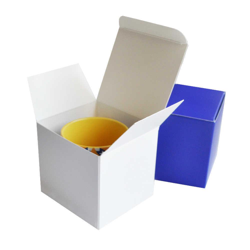 Картонная упаковка с логотипом для чашки