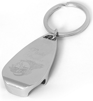 Арт. 1270BR Брелок-открывашка металлический