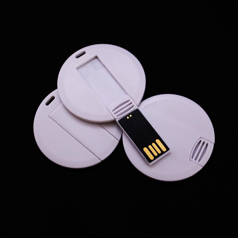 USB-Флешка на 8Gb круглая