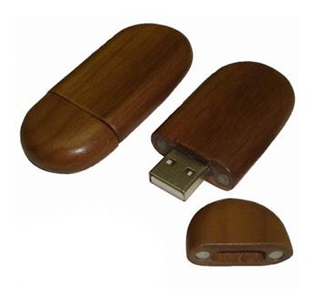 USB-Флешка на 16Gb в форме овала