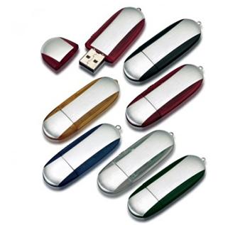 USB-Флешка на 16Gb овальной формы