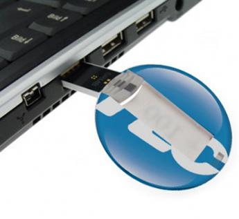 USB-Флешка на 64Gb круглая