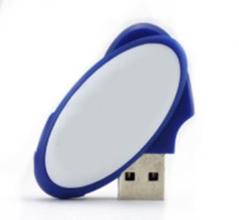 USB-Флешка на 8Gb овальная