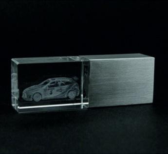 Арт. C-1.16 USB-Флешка на 16Gb кристал