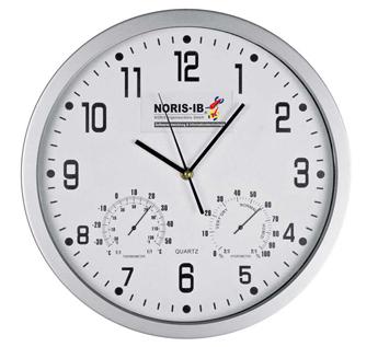 Арт. 41238 Часы с термометром и гигрометром