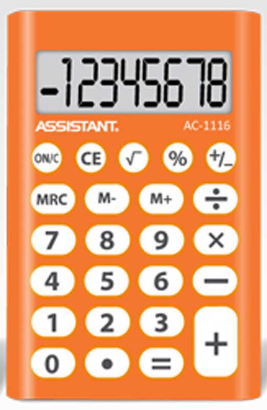 Арт. АС-1116 Калькулятор карманный
