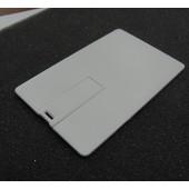 .USB-Флешка на 4 Gb  PLASTIC CREDIT CARD