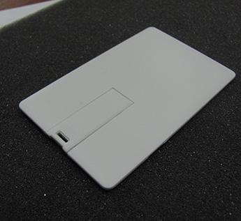 USB-Флешка на 8Gb  PLASTIC CREDIT CARD