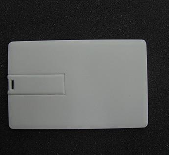 USB-Флешка на 32Gb  PLASTIC CREDIT CARD