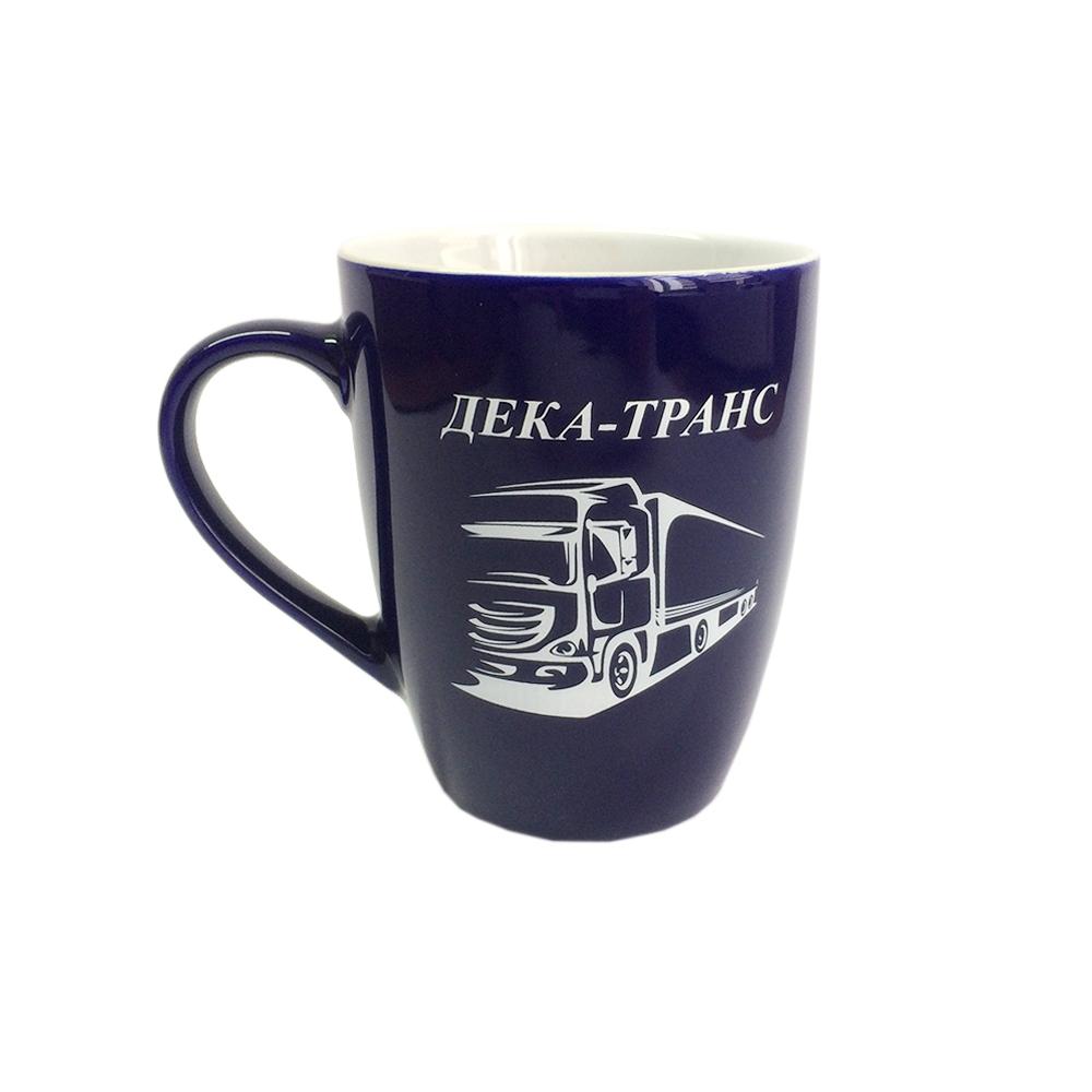 Чашка с логотипом в форме конуса