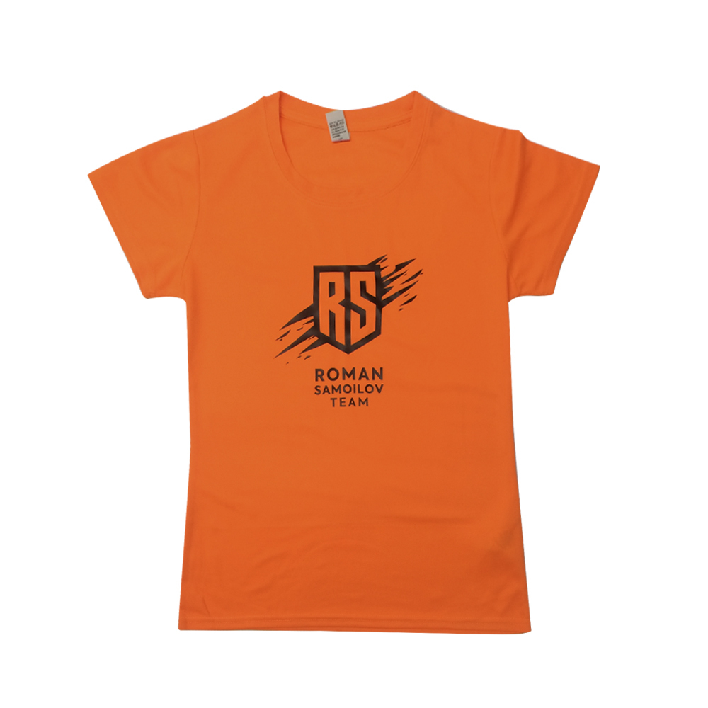 Спортивная футболка с логотипом женская Montecarlo Woman
