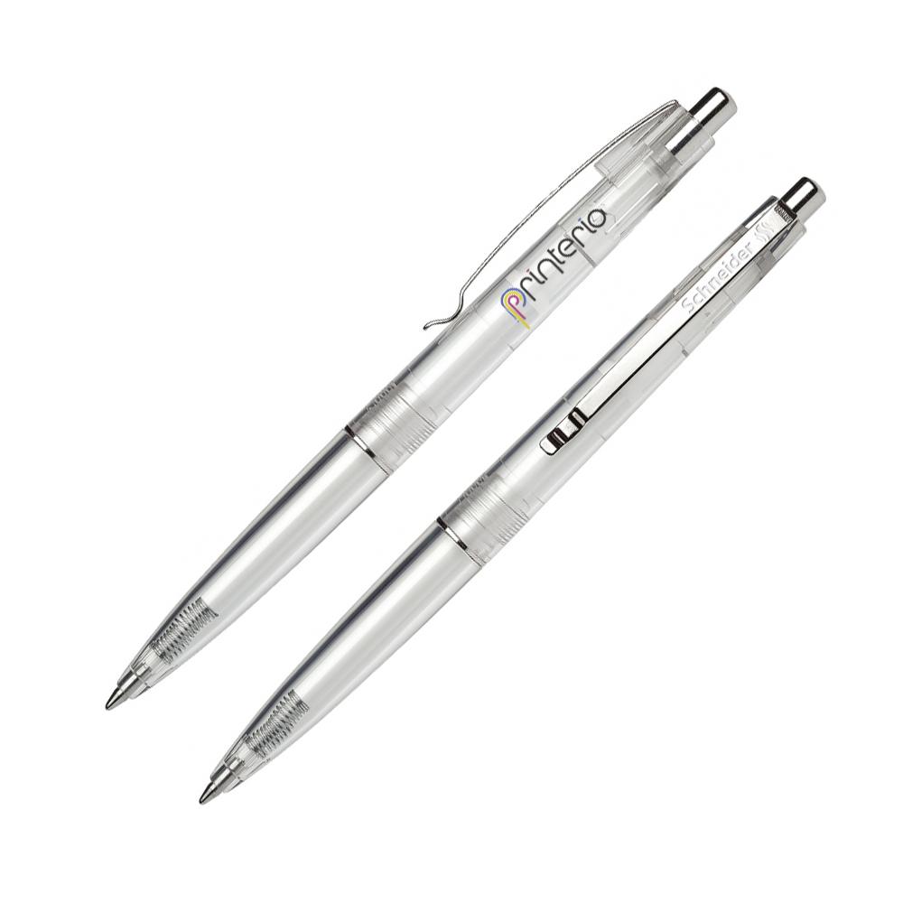 Ручка с логотипом из коллекция Sunlite. Пластиковая ручка от шнайдер