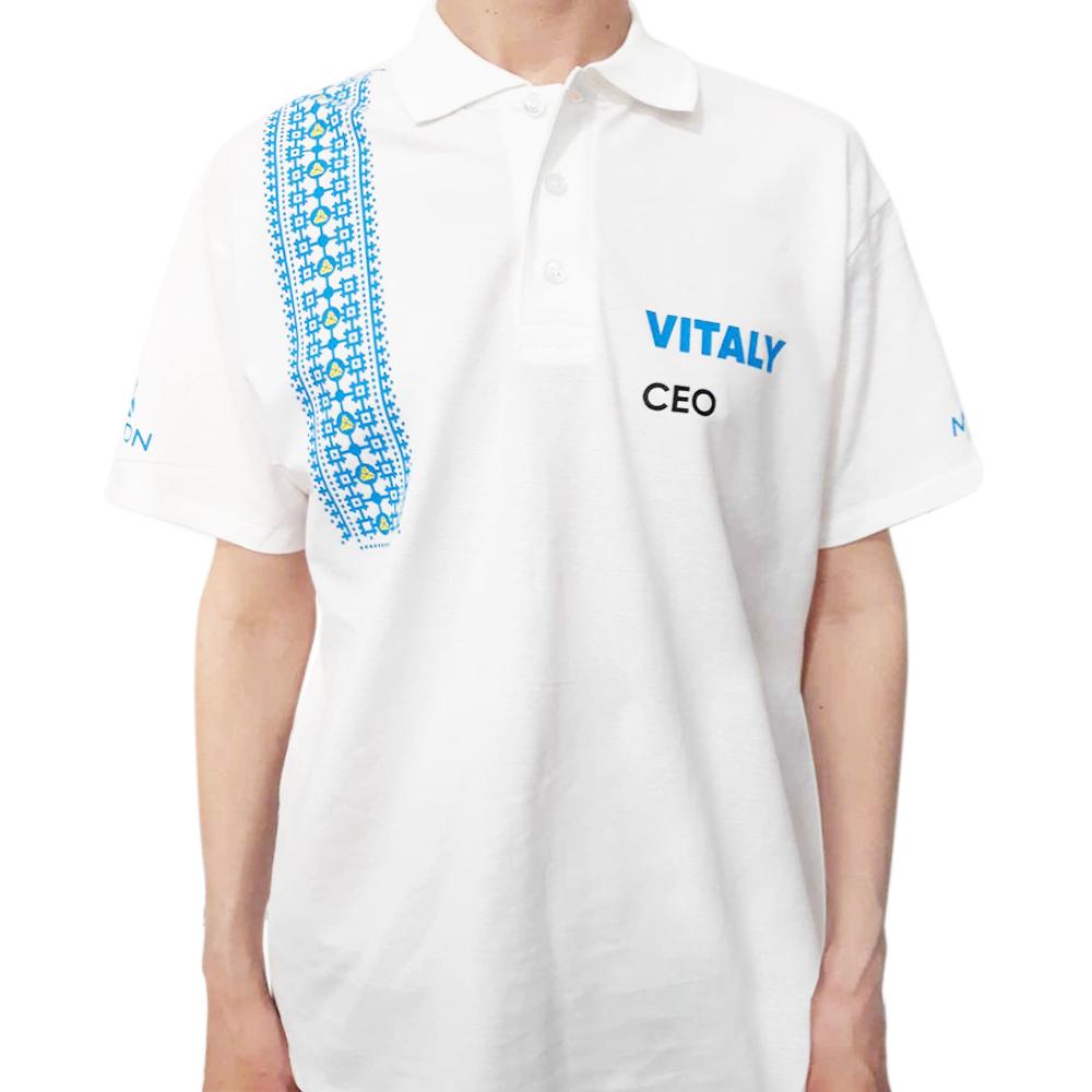 Поло SoftStyle с логотипом