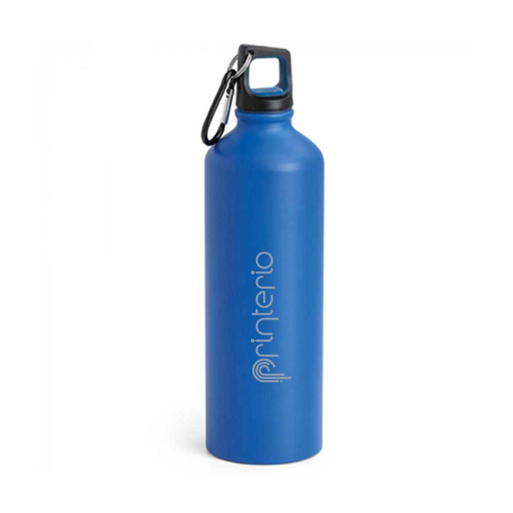 Бутылка с логотипом алюминиевая
