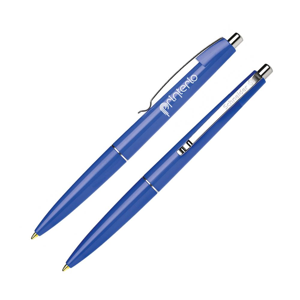 Schneider Office пластиковая ручка с логотипом автомат