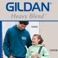 Реглан с капюшоном Heavy Blend с логотипом