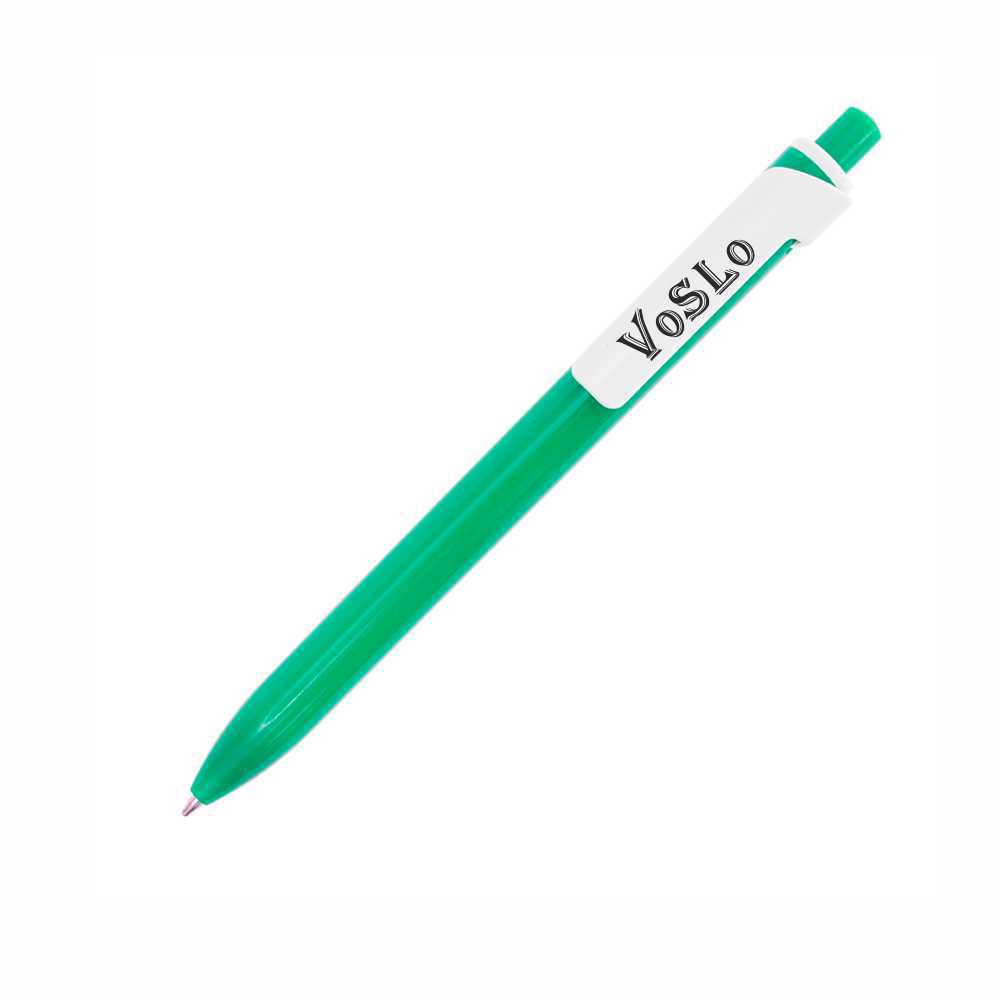 Ручка шариковая с логотипом Wideclip с широким клипом
