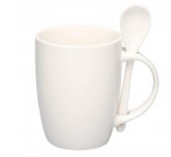 Арт.  ЕС88210106 Чашка цветная с ложкой