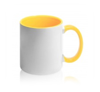 Арт.  ЕС881004 Чашка цветная евроцилиндр под деколь