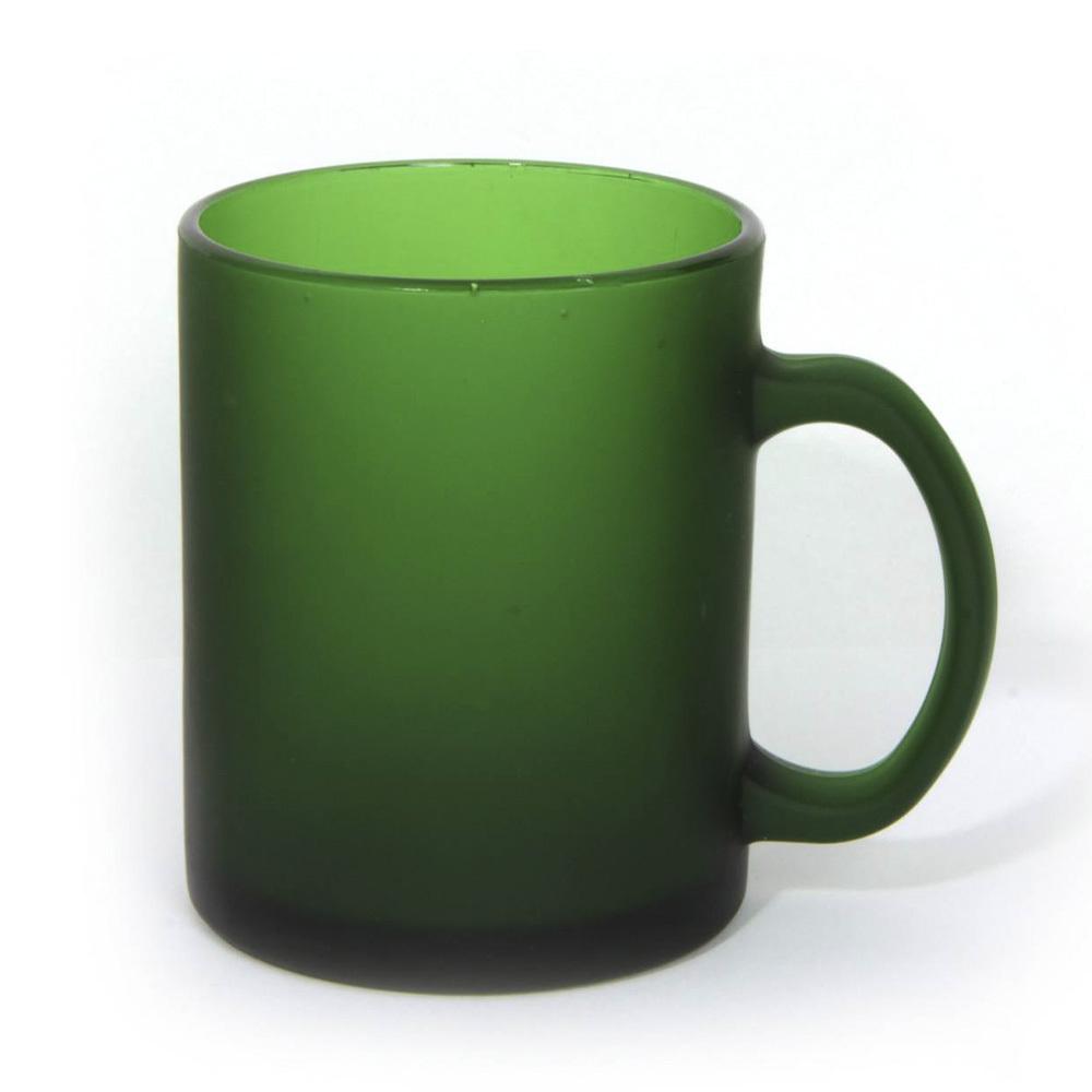 Чашка стеклянная с лого