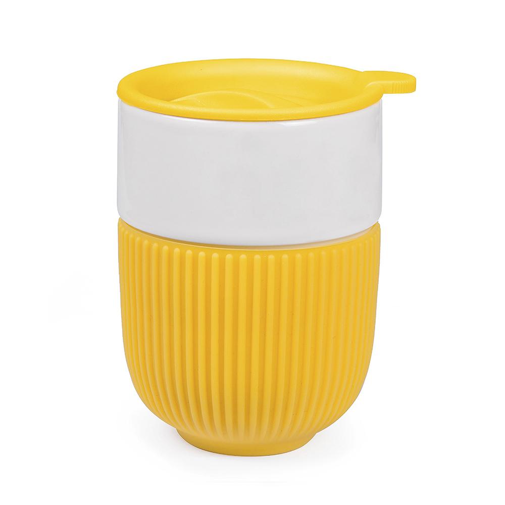 Керамический стакан-непереливашка с логотипом