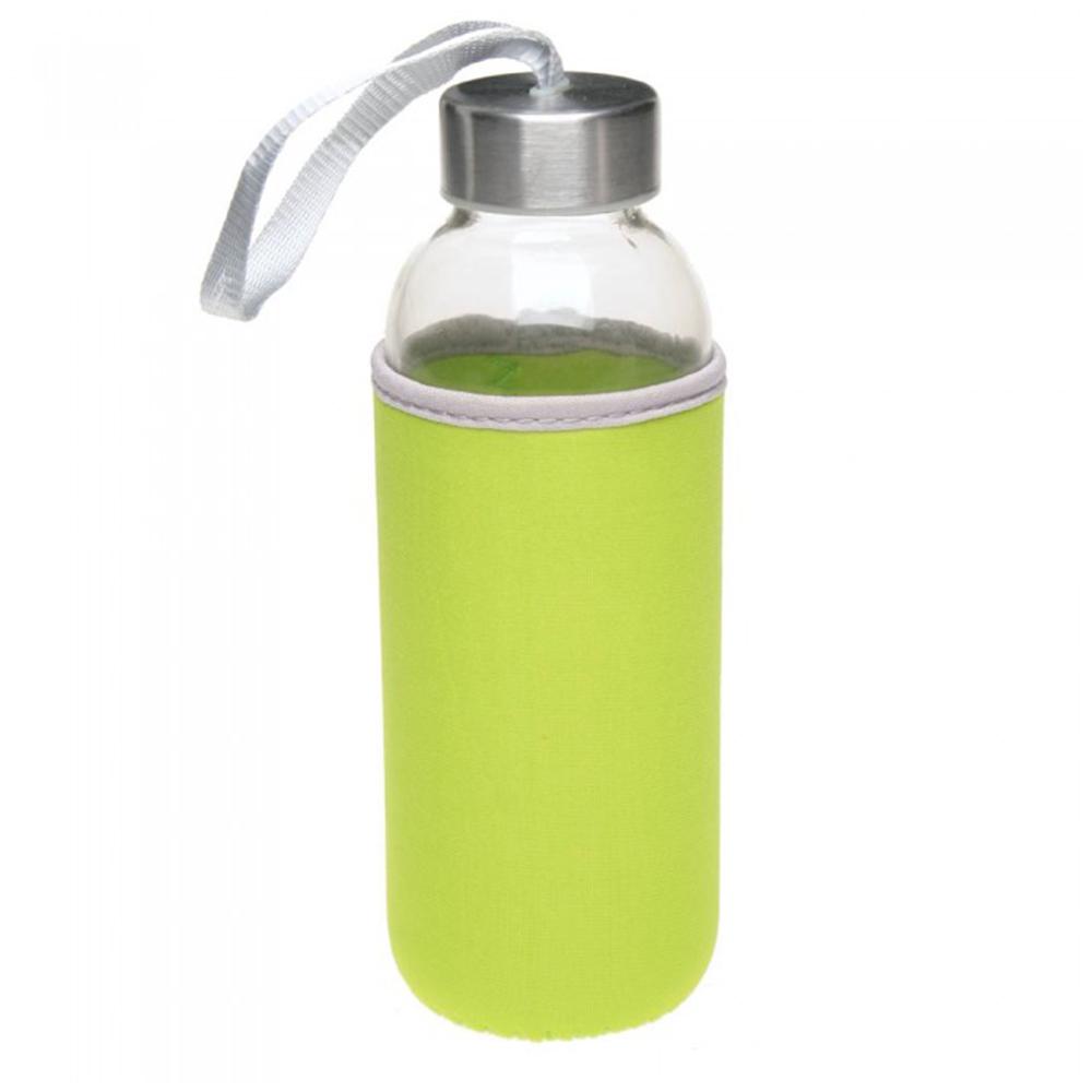 Бутылка стеклянная TAKE WELL с логотипом