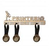 Медальница для футбола