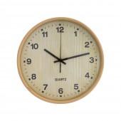 Часы настенные деревянные Natural Optima