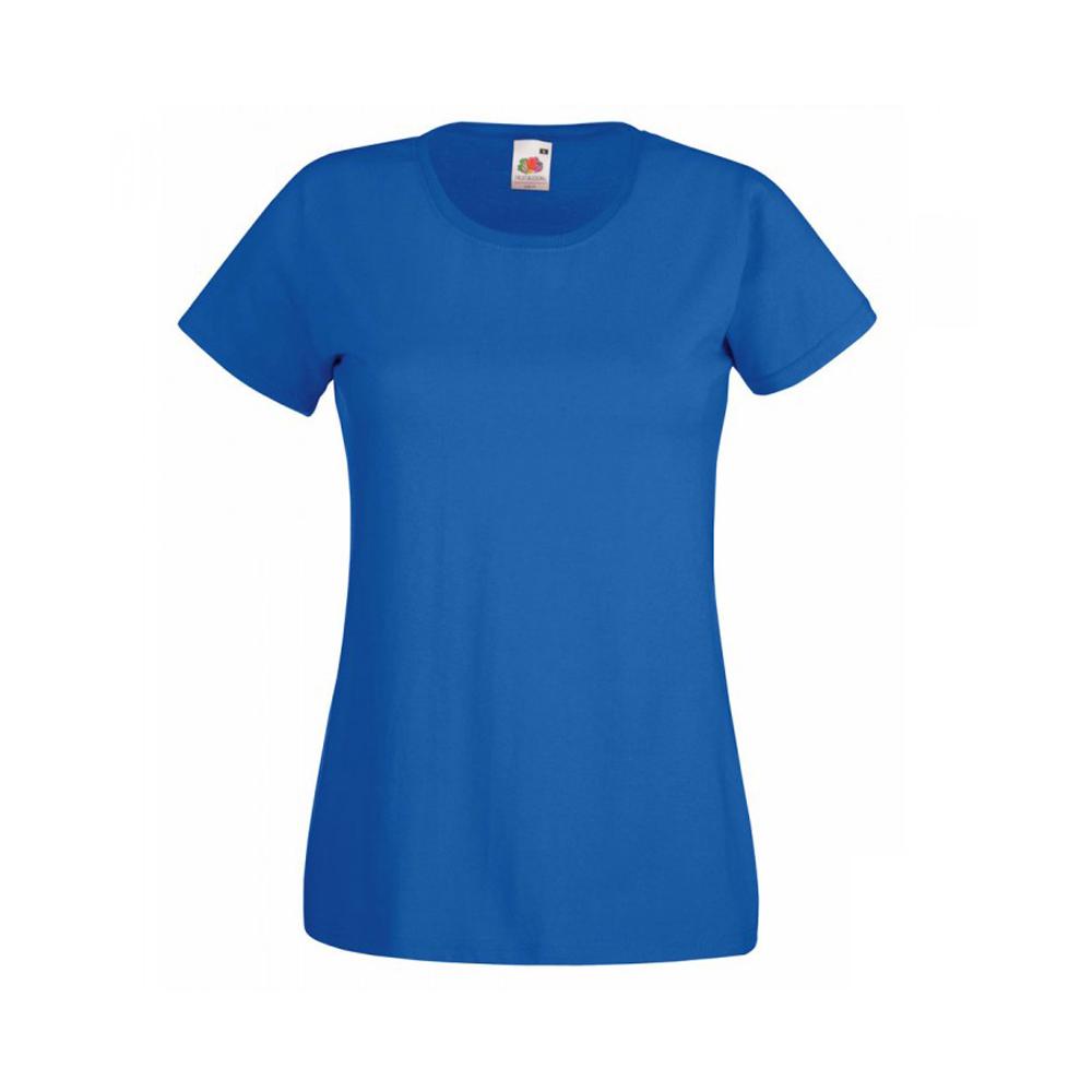 Женская футболка с логотипом Fruit of the Loom