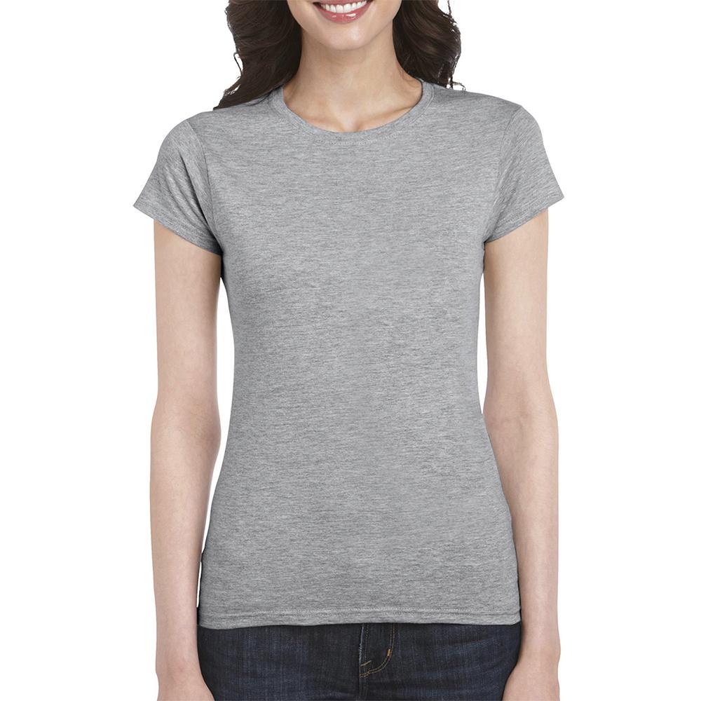 Женская футболка с логотипом Soft Style