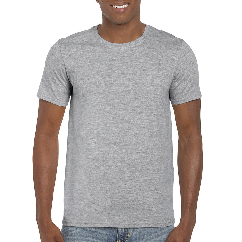 Хлопковая футболка с логотипом мягкая SoftStyle
