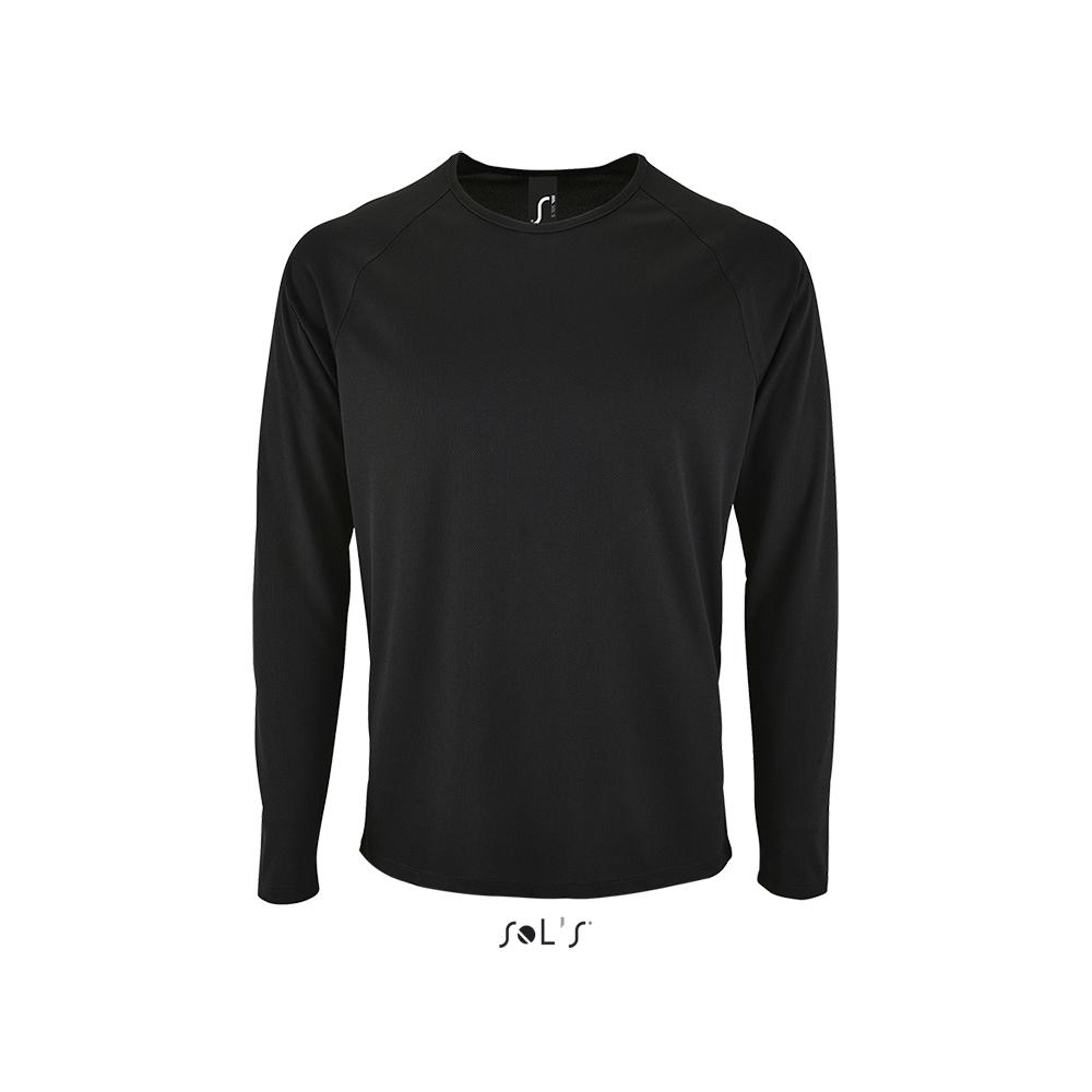 Спортивная футболка с логотипом (длинный рукав)