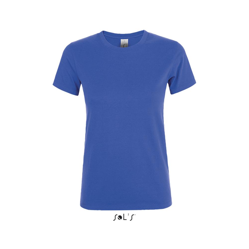 Приталенная женская футболка с логотипом
