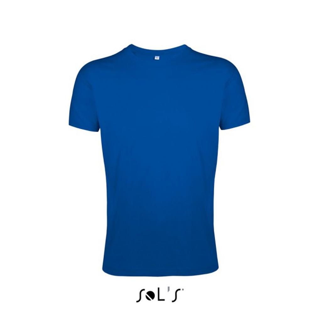 Мужская футболка силуэтная с логотипом REGENT FIT