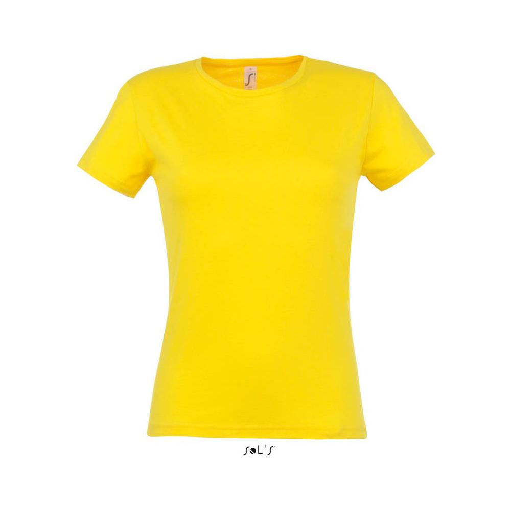 Футболка женская с логотипом Sol's из коллекции Miss