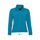 Флисовая куртка женская с логотипом
