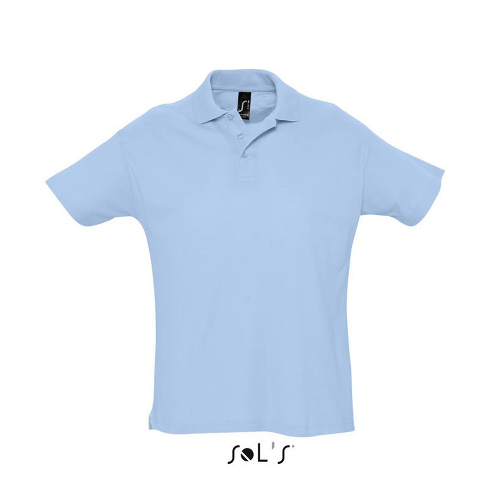 Рубашка поло с логотипом SUMMER II мужская от Sol's