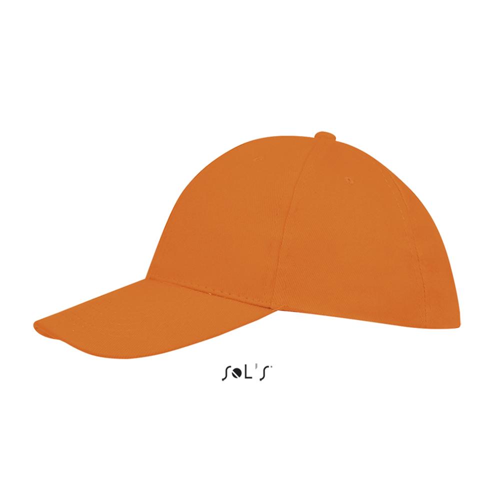 Бейсболка с логотипом из хлопка с начесом BUFFALO