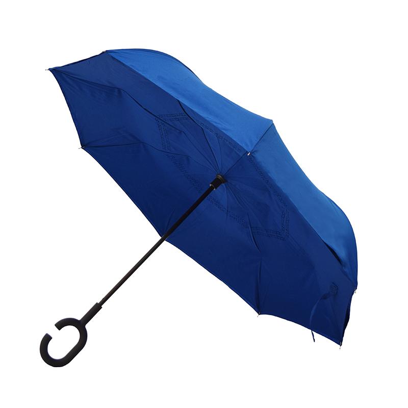 Умный зонт-трость с кольцом