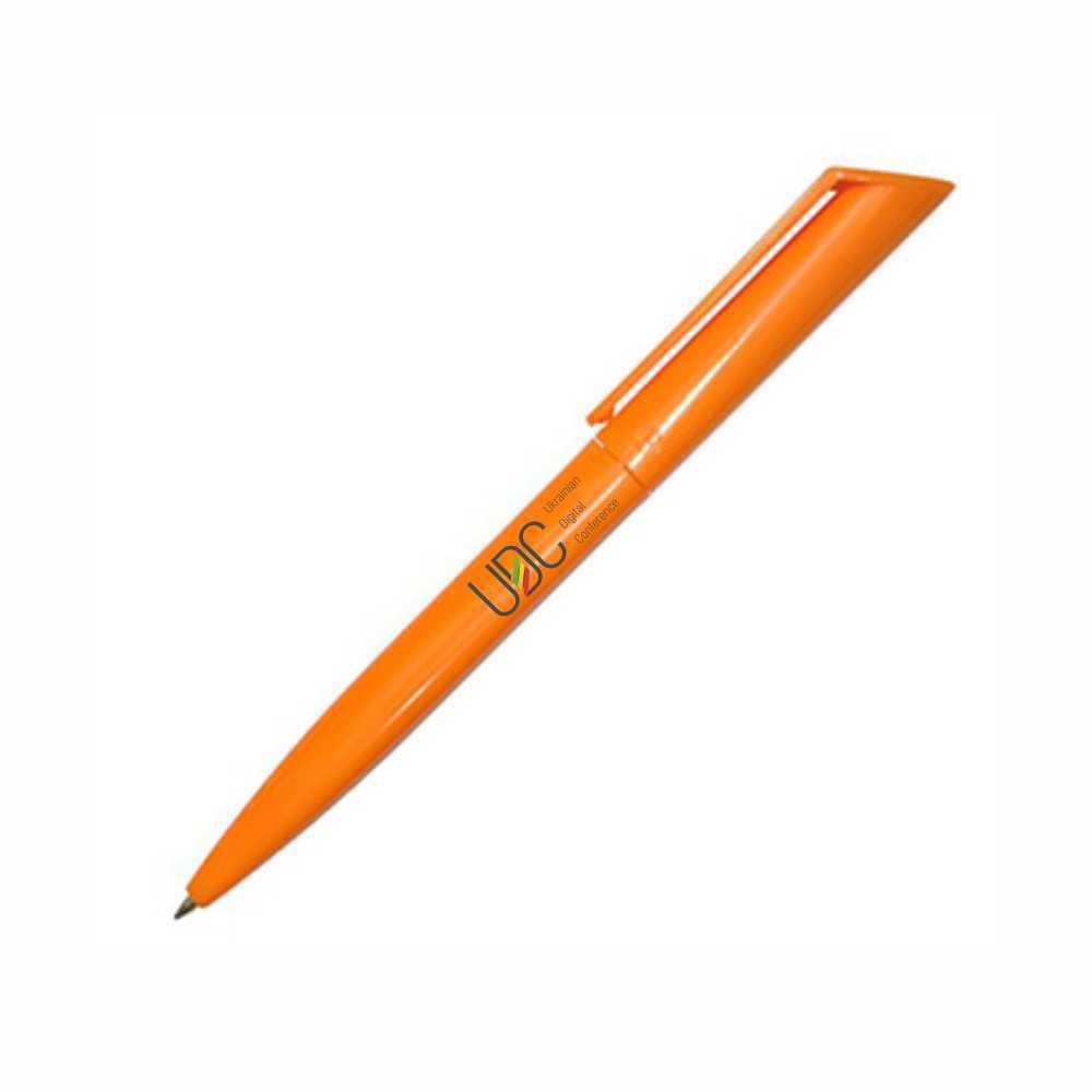 Ручка с логотипом с поворотным механизмом. Украина.