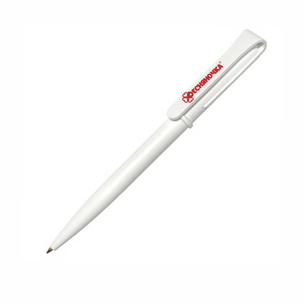 Ручка пластиковая с поворотным механизмом с логотипом