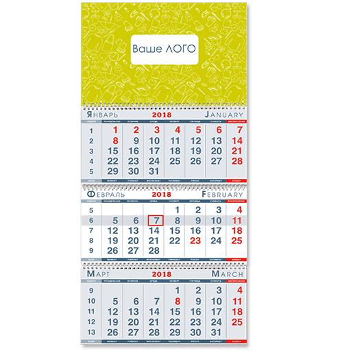 Календарь K-1