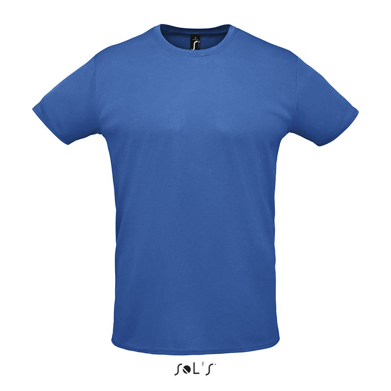 Спортивная быстросохнущая футболка унисекс