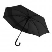 Зонт-трость полуатомат с удлиненной задней секцией