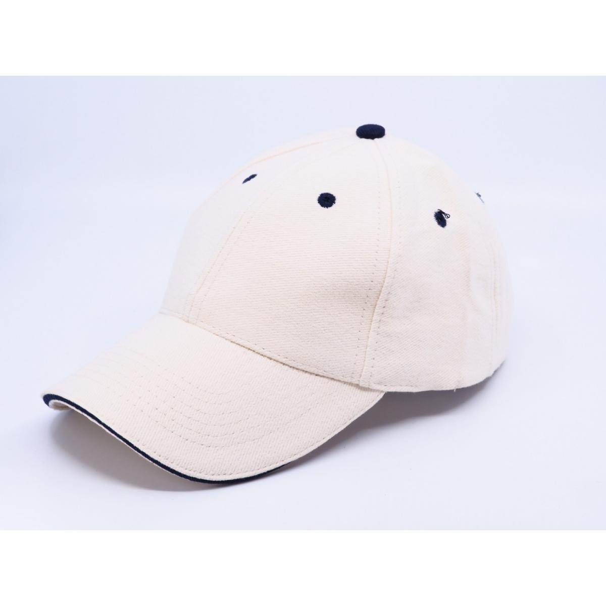 Теплая кепка с логотипом CONTRAST SANDWICH