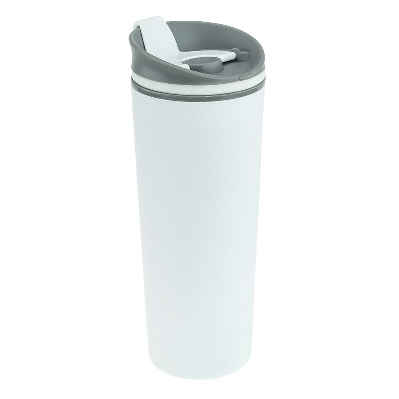 Термокружка пластиковая с логотипом
