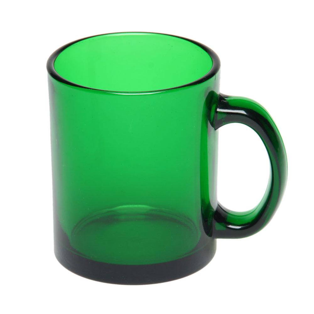 Чашка стеклянная с логотипом