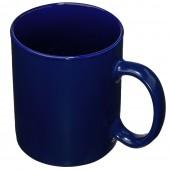 Белая чашка евроцилиндр под декор