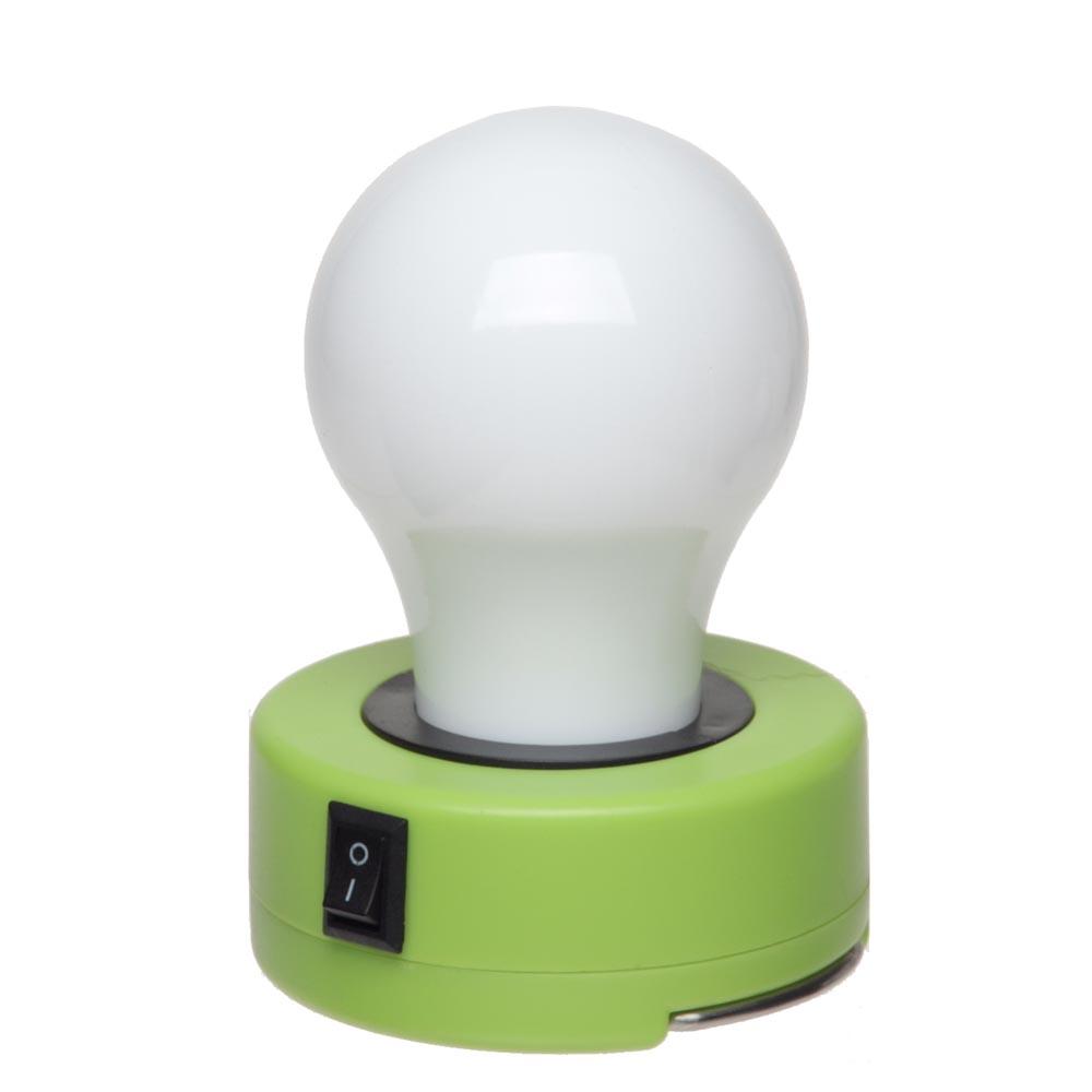 Лампочка пластиковая LED