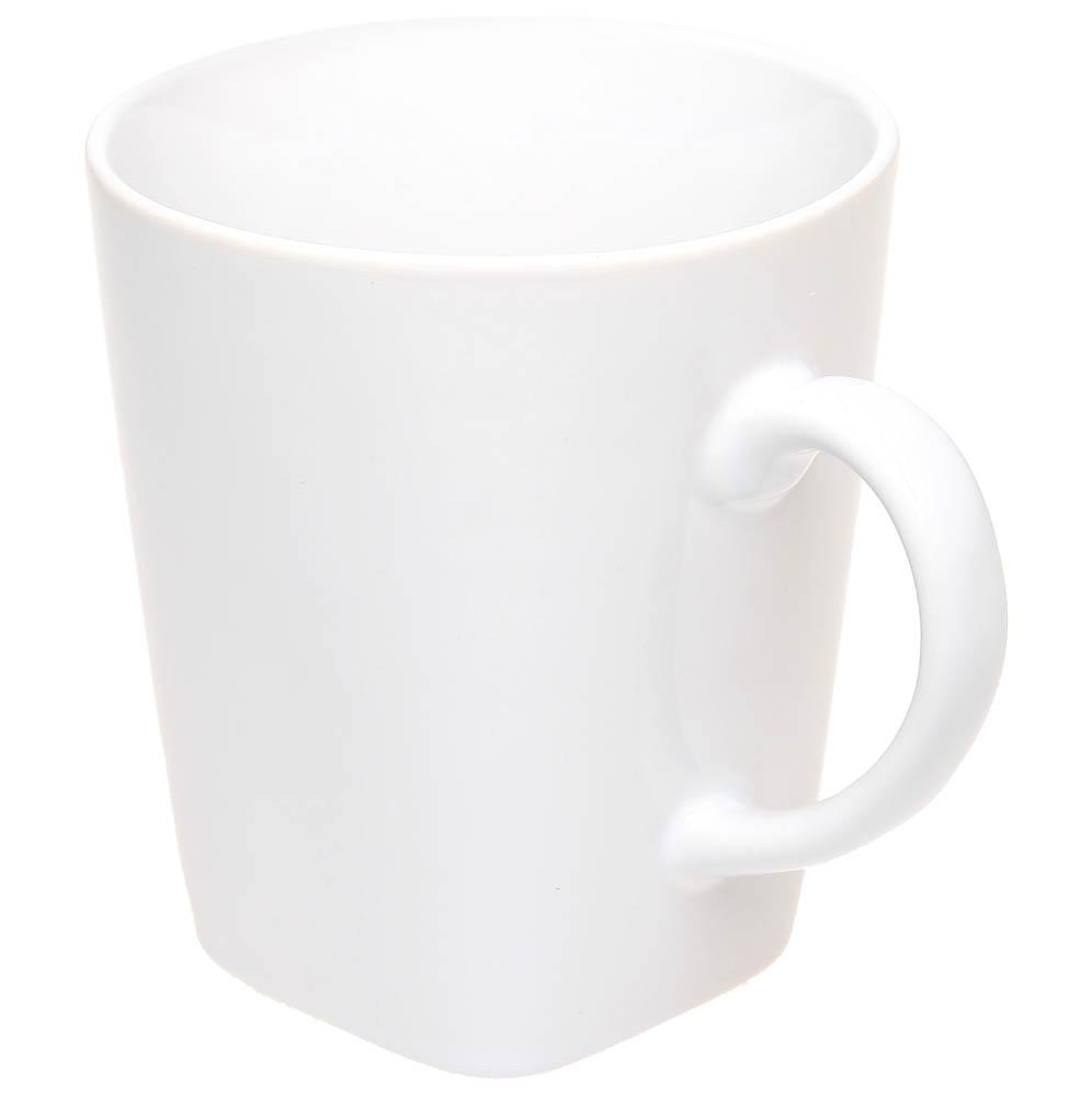 Керамическая чашка с квадратным дном